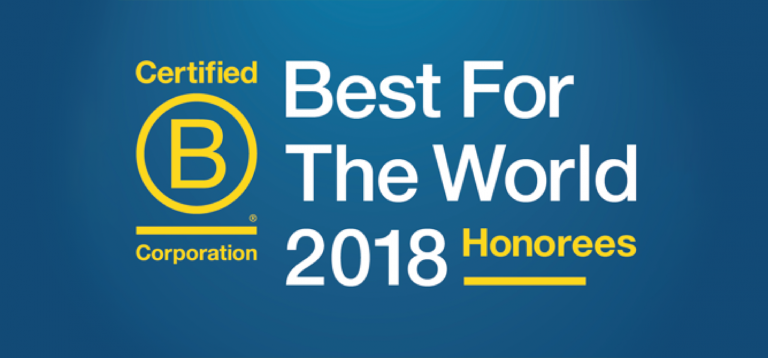 Butler/Till Is Named to the 2018 Best for the World List of Top-Performing B Corps